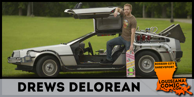 Drew's DeLorean